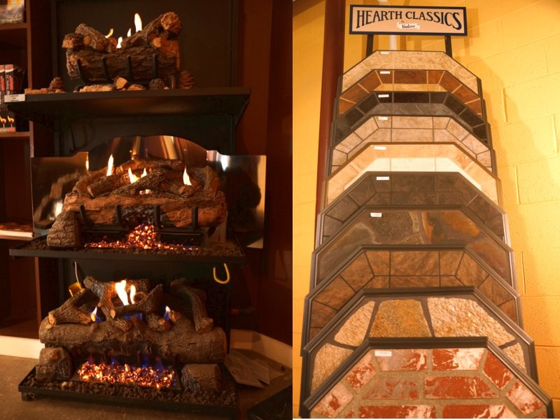 Right; Stove mats and hearth extenders to add - Wooden Sun Showroom Tour - Fireplaces, Wood Stoves - Charlottesville