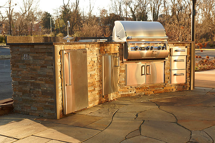 Outdoor Kitchens Charlottesville Richmond Va Wooden Sun