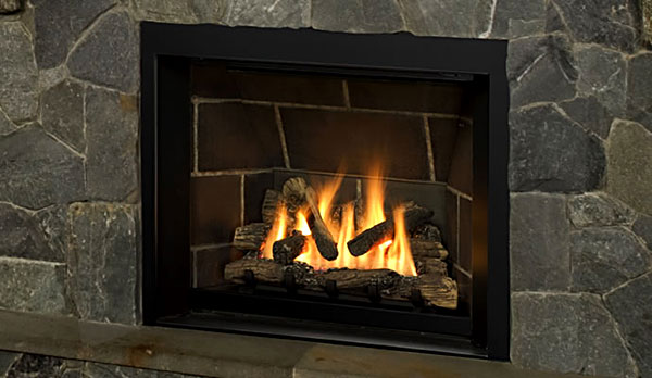 propane natural gas fireplace
