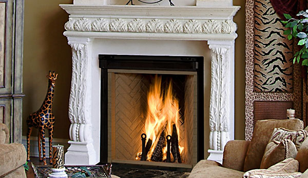 High Efficiency Wood-burning Fireplaces