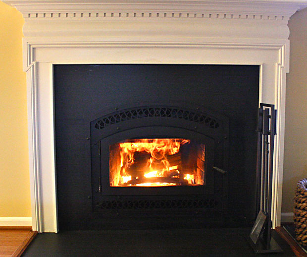 High Efficiency Wood Burning Fireplace