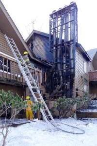Laurelwood Condominium Fire