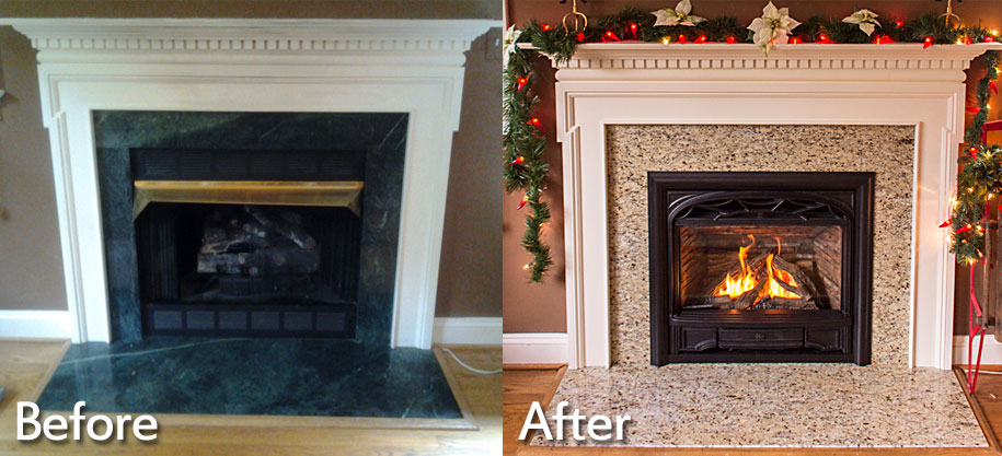 Fireplace Installations Charlottesville Richmond Va Wooden Sun