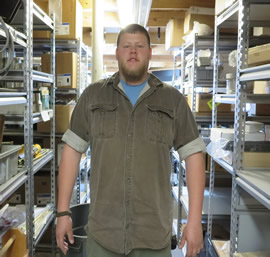 Josh Thornhill, Warehouse Manager
